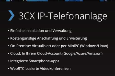 Zuverlässige Internettelefonie in höchster Sprachqualität dank Cloud PBX