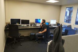 Service Desk im Labor