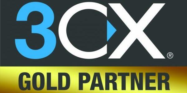 Wir sind 3CX Gold Partner