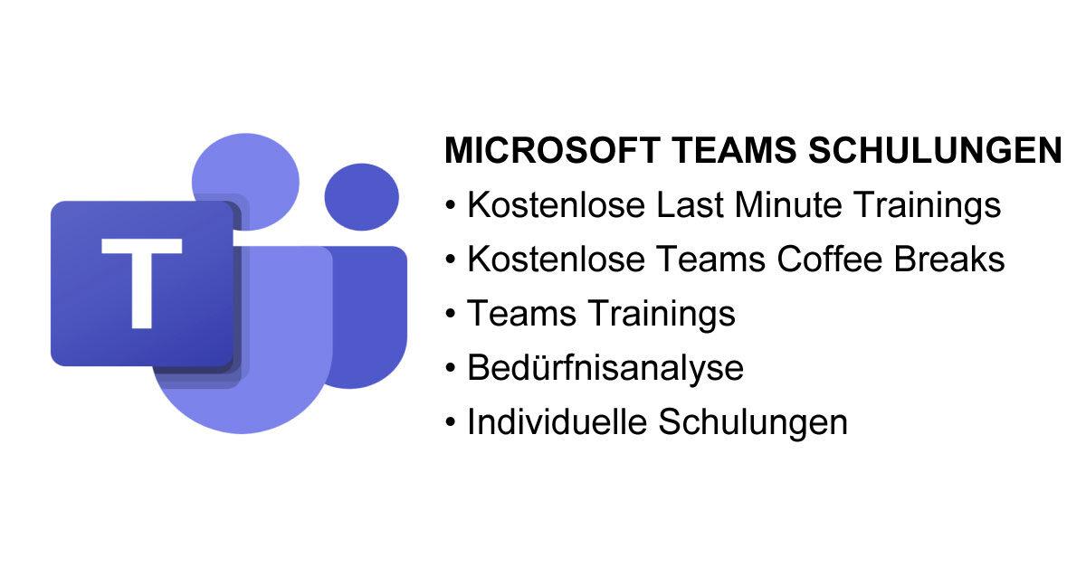 Microsoft Teams Schulungen_Anzeige LinkedIn