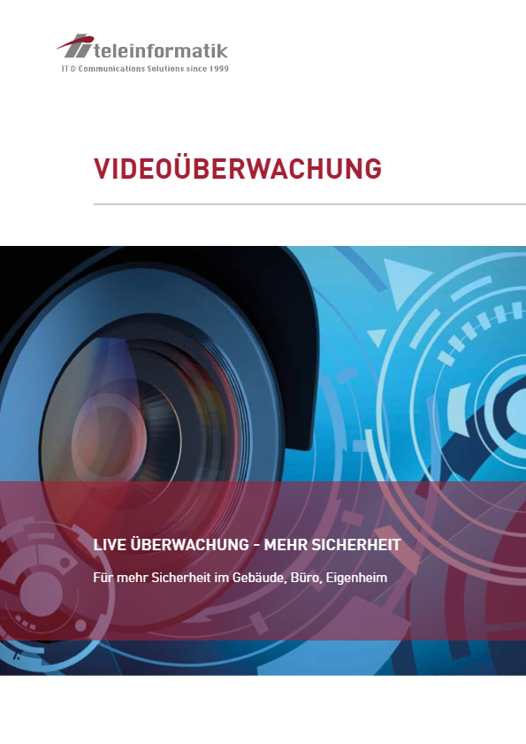 Videoüberwachung Broschüre