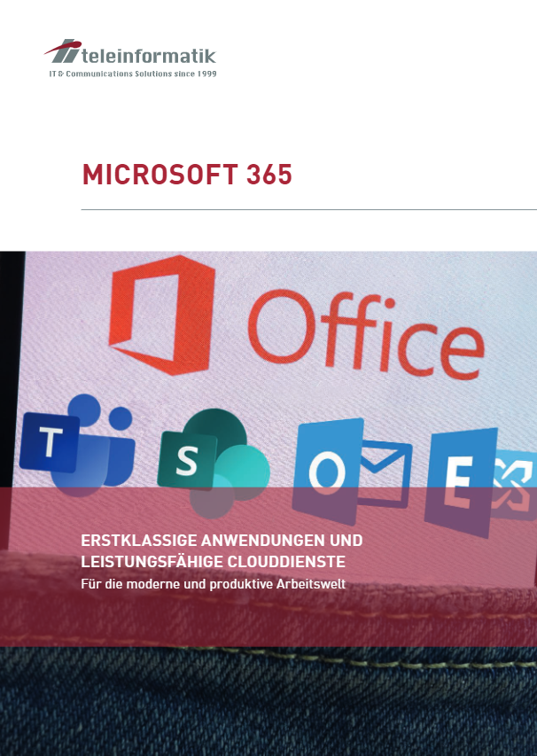 Microsoft 365 Broschüre