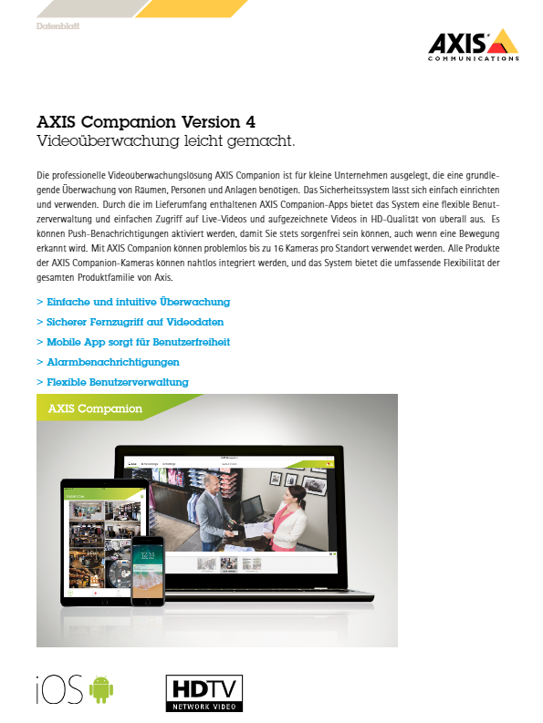 AXIS Companion 4