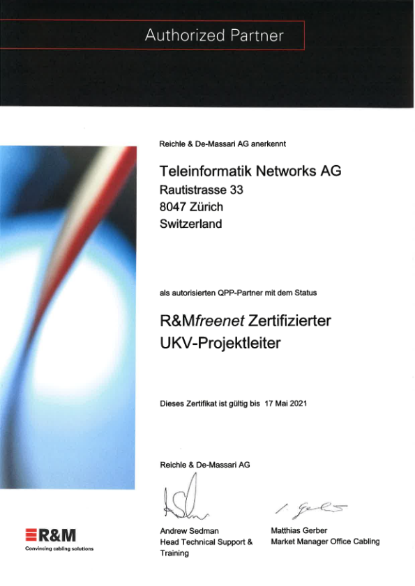 Zertifizierter UKV-Projektleiter