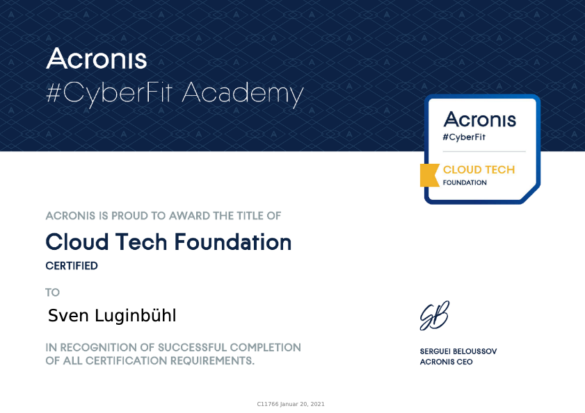 Cloud Tech Foundation