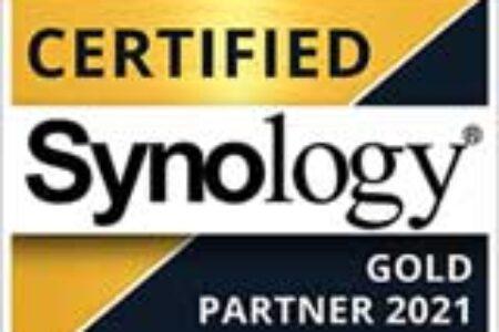 Wir sind ab sofort autorisierter Synology Gold Partner